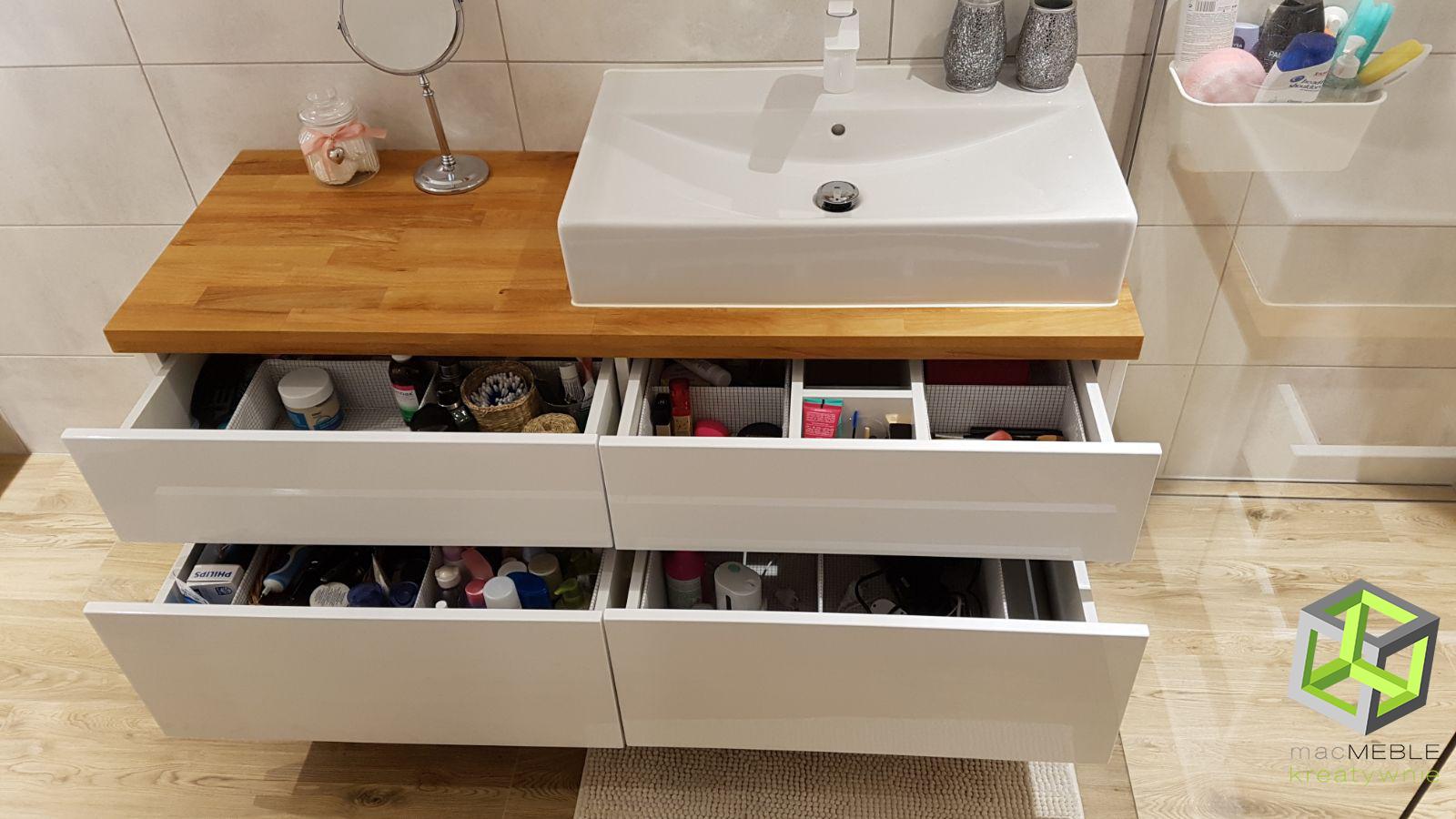 Meble łazienkowe Na Wymiar Rodzaje Materiałów
